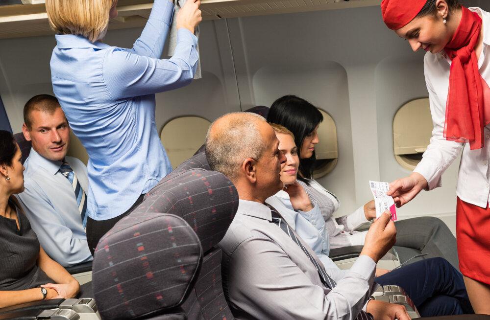 Need on üheksa esimest asja, mida lennusaatjad sinu juures märkavad, kui sa lennukisse astud