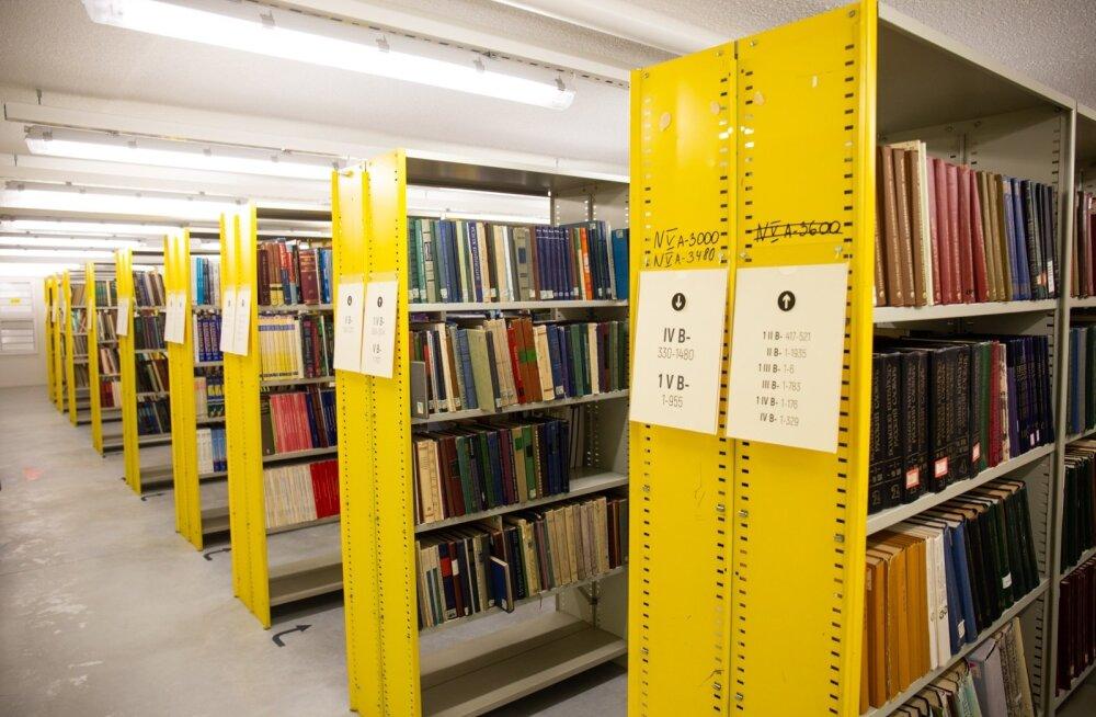 Tartu Ülikooli raamatukogu kolmanda korruse ja avahoidla avamine