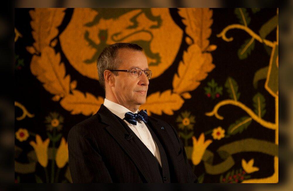 President Ilves: meie pole süüdi selles, et oleme vabad