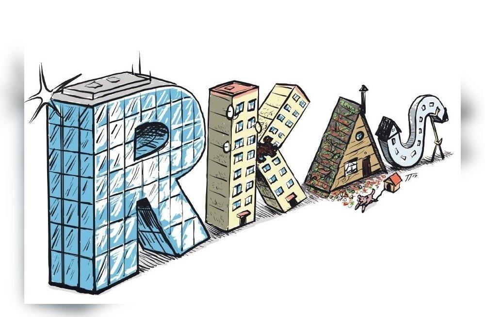 ГРАФИК: Клиенты Riigi Kinnisvara AS ежедневно обнаруживают проблемные места
