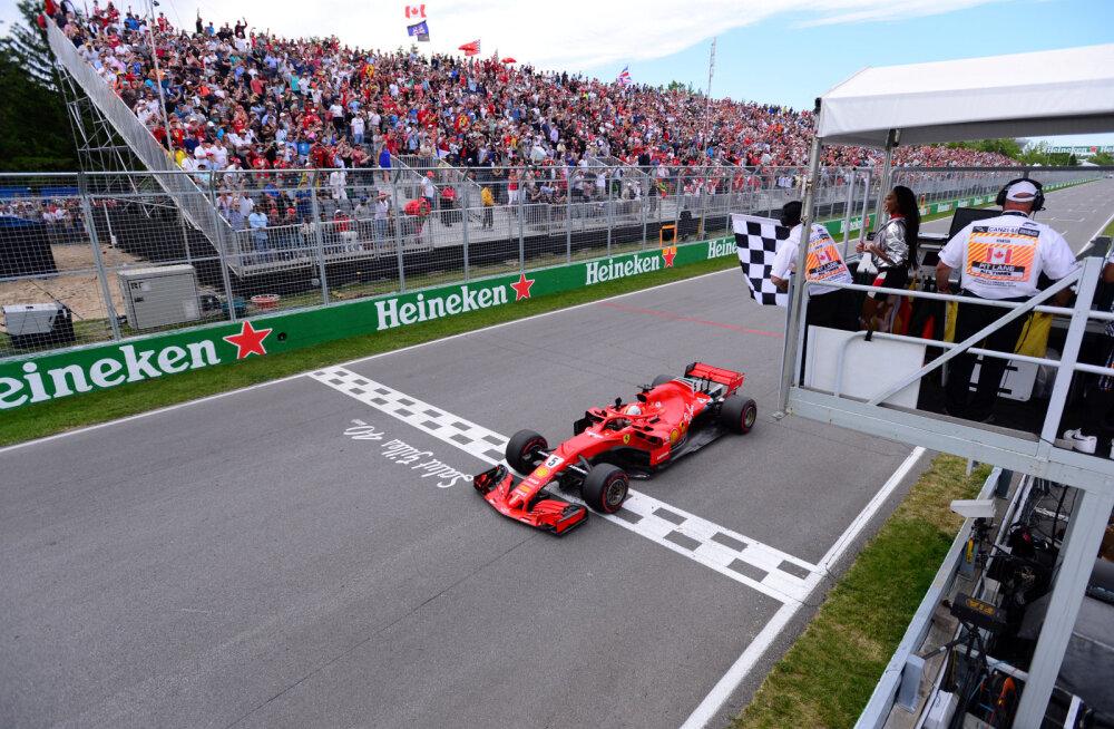 Suur segadus: miks lehvitati Kanada GP-l ruudulippu üks ring liiga vara?