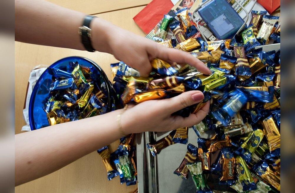 Kalev на несколько дней приостановил поставки конфет