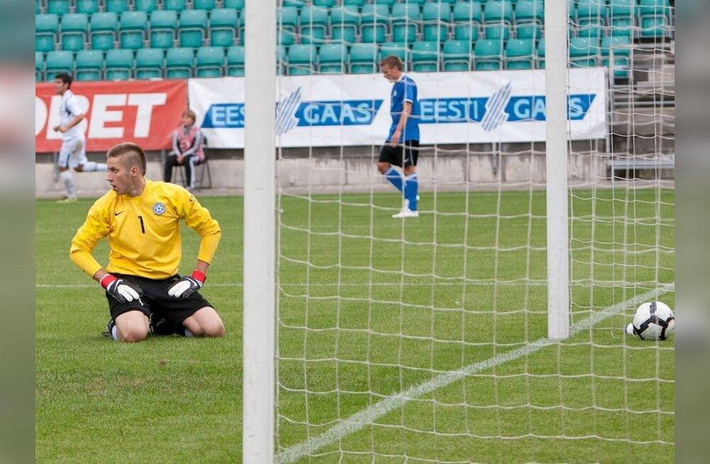 FOTOD: Eesti U21 jalgpallikoondis Aserbaidžaani eakaaslaste vastu ei saanud
