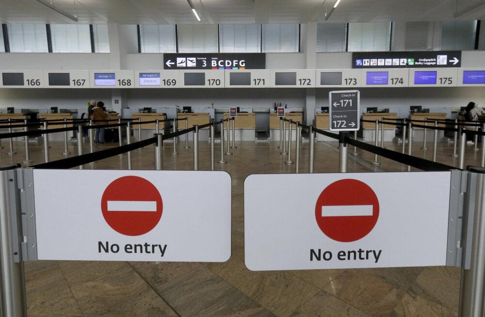 Экстренное возвращение домой: как сотни эстонских туристов оказались в ловушке из-за закрытия границ