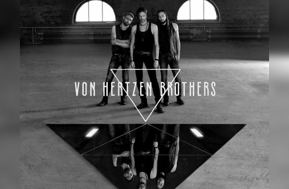 Põhjanaabrite edetabelite pikaaegne liider Von Hertzen Brothers annab Eestis kontserdi