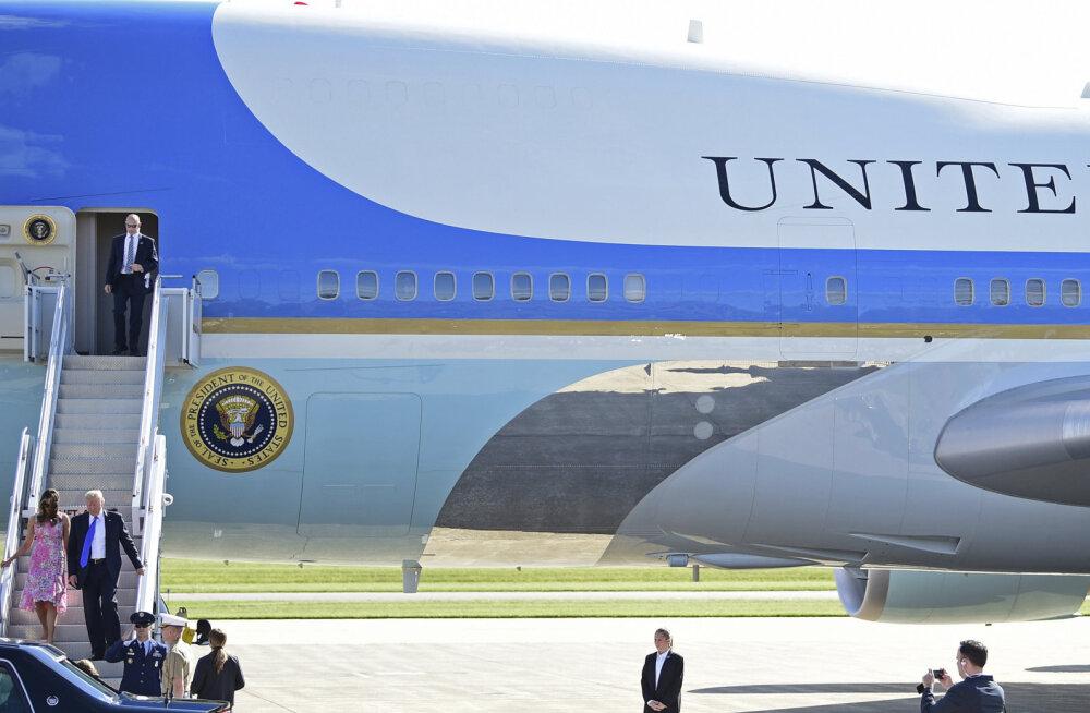 Pankrotistunud Vene lennufirmale ehitatud Boeingust saab ilmselt USA presidendi Air Force One