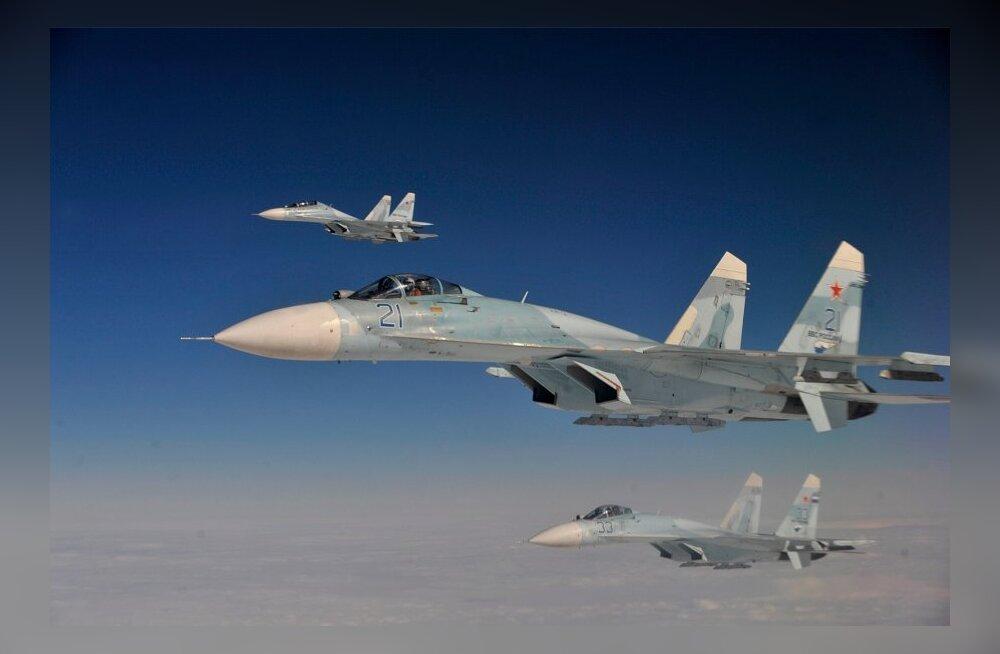 Venemaal toimuvad enneolematult suured õhujõudude ja õhutõrje õppused