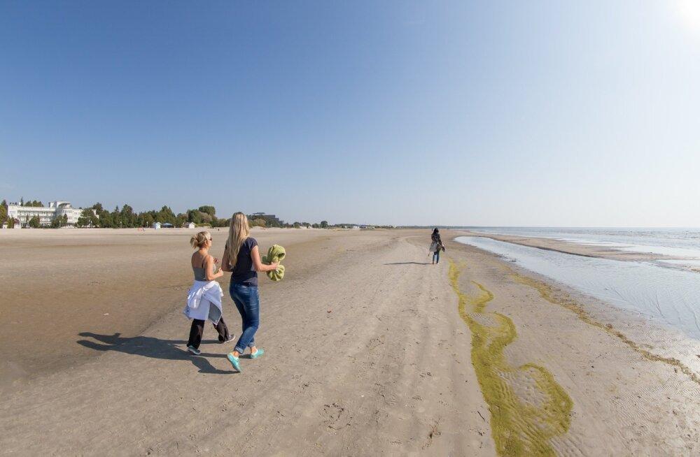 vananaistesuvi Pärnu rannas