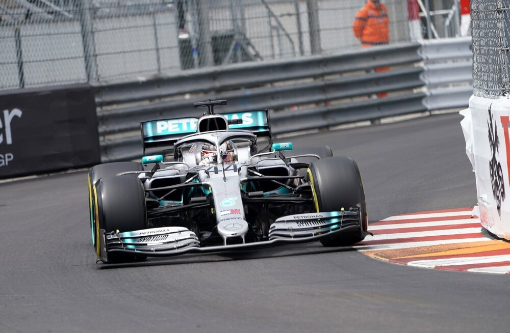 Lewis Hamilton Monacos.
