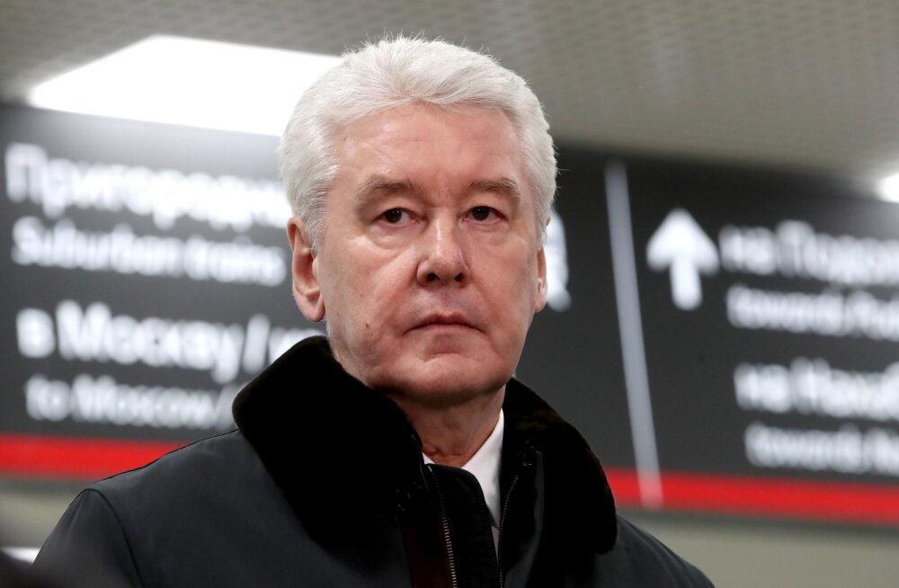 Собянин попросил москвичей не ходить на парад Победы