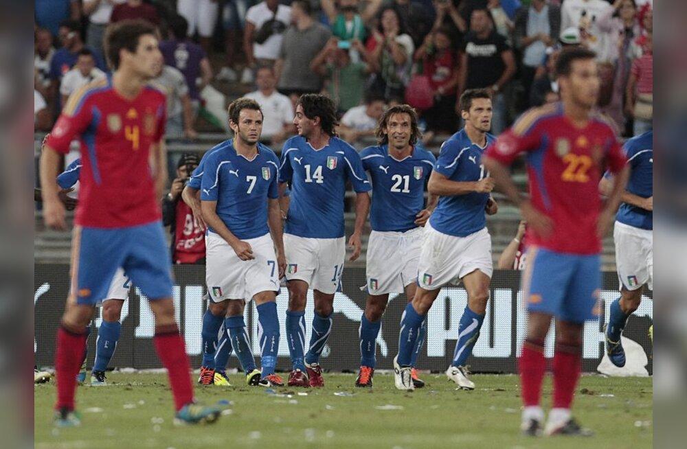 Itaalia-Hispaania jalgpalli sõpruskohtumine