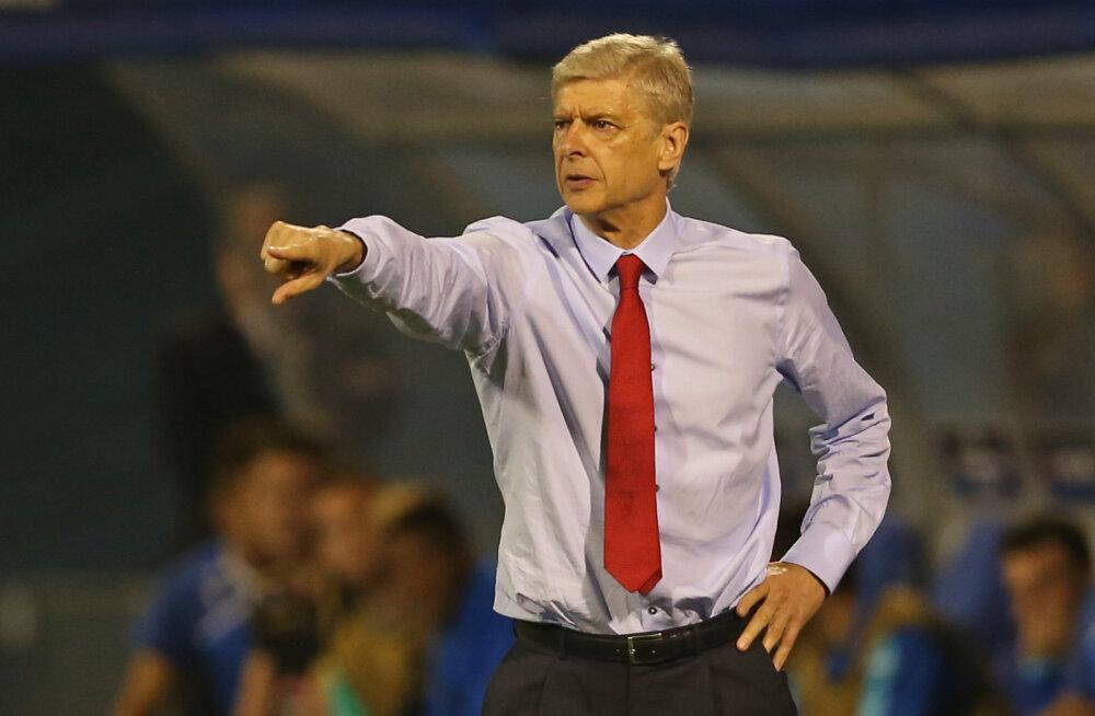 Arsene Wenger ei teinud kaotusest Zagrebile suurt numbrit