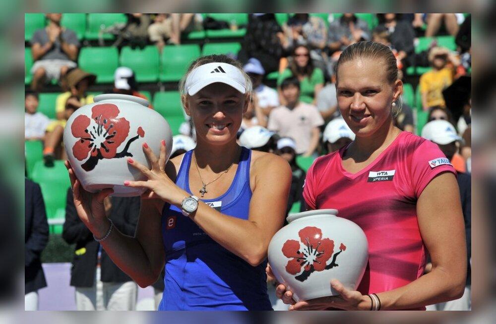 FOTOD: Kanepi Souli tenniseturniiri finaalis Wozniackile vastu ei saanud