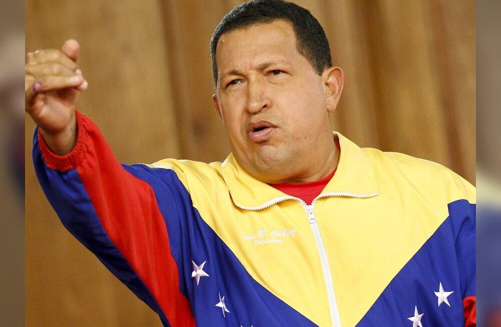 Venezuela president natsionaliseeris riigi suurima terasetootja