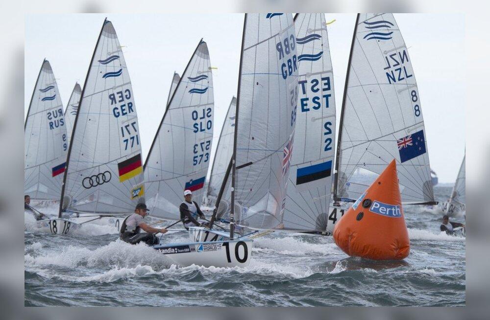 Eesti purjetajad said Finn klassis olümpiakoha!