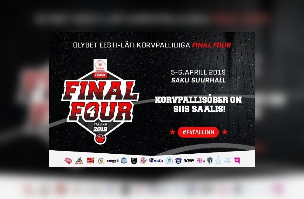 Suure finaali eel: täna algas Eesti-Läti korvpalliliiga Final Fouri piletimüük