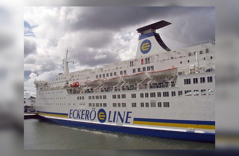 На маршрут Таллинн-Хельсинки выйдет новое судно Eckeröline