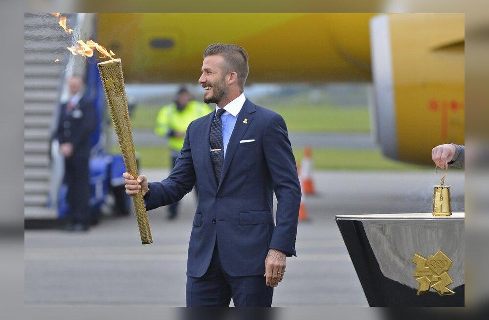 David Beckham on süüdanud olümpiatõrviku