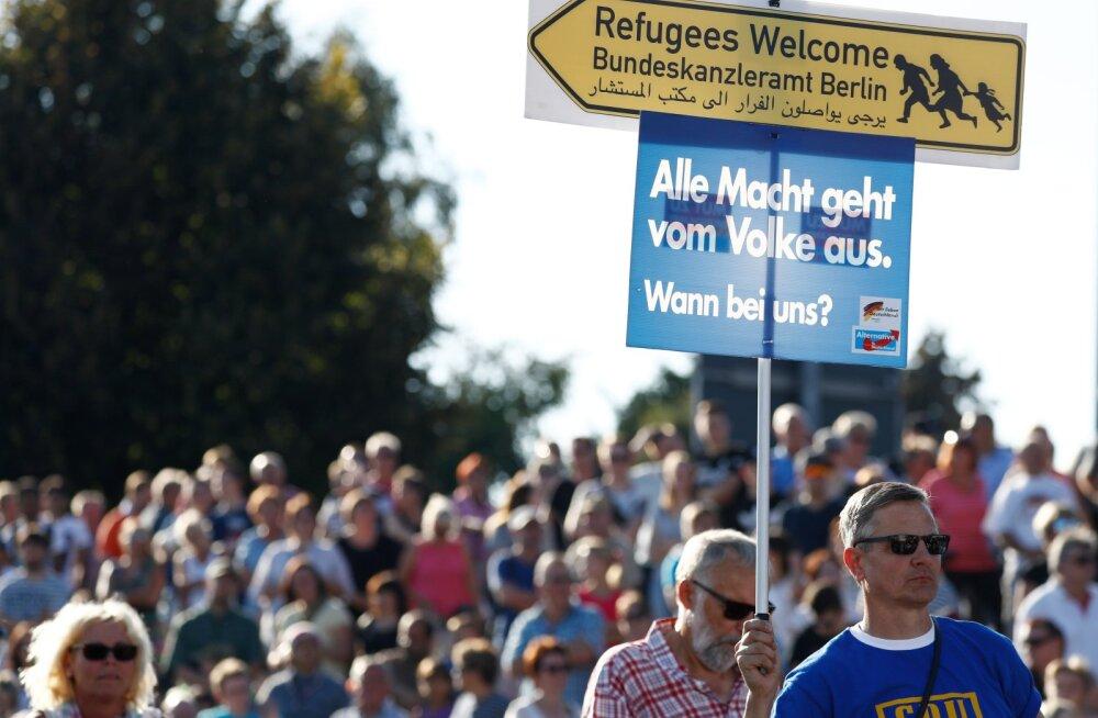 Valimisprotestid Saksamaal: Merkel, kasi minema!