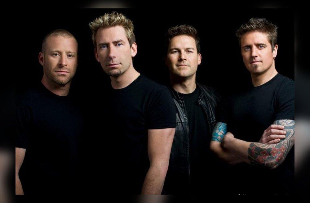 Teed muusikat? Siis vaata siia! Nickelback otsib Peterburi kontserdi soojendusesinejat ka Eestist!
