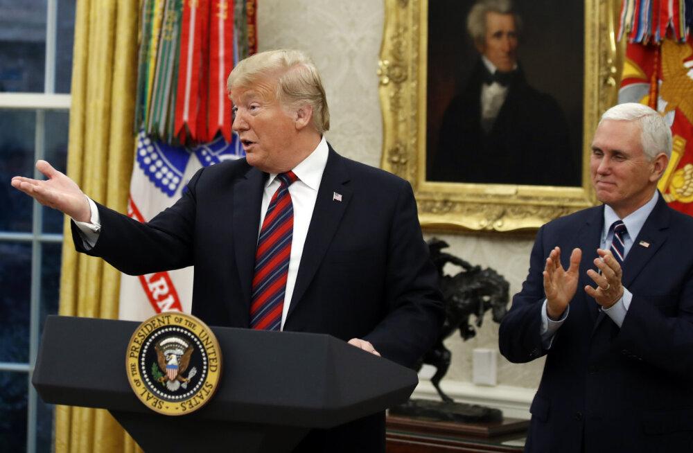 VIDEO | Trump andis valitsusseisaku lõpetamiseks järele: leebem poliitika illegaalide suhtes piirimüüri eest