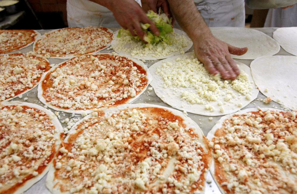 Ameeriklastel on üllatav pitsa tellimise koht