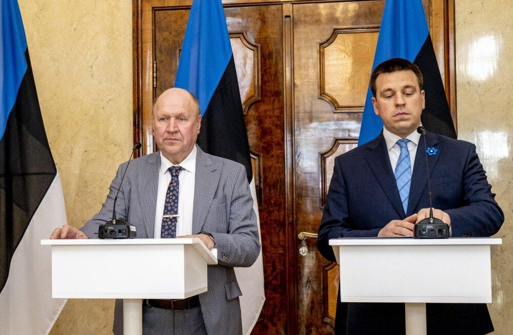 FIKTSIOON-OTSEBLOGI | Unenägu Kaljulaidi, Ratase ja Helme kohtumisest: sild üle murelike vete ehk kuidas peaminister on 38 korda kinnitanud, et EKRE rünnakud enam ei kordu