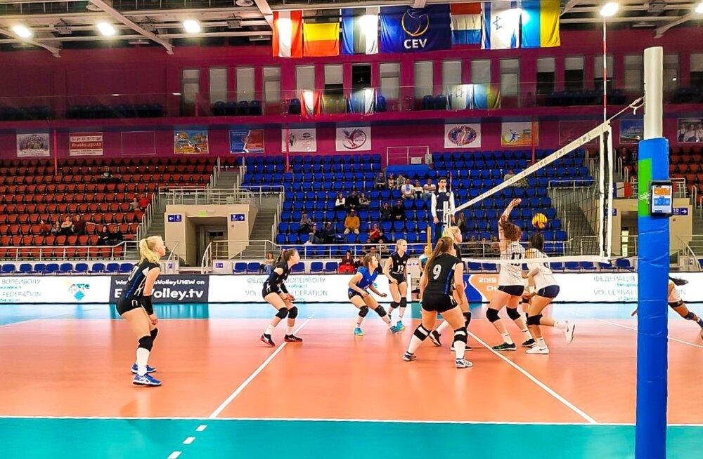 Eesti U16 koondis EM-valikturniiril.