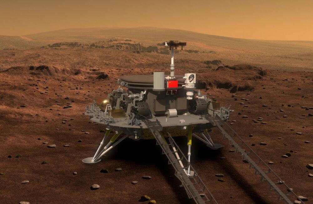 Hiinlased toimetavad lähiaastatel kosmosesse marsikulguri ning veel ühe Kuule suunduva sondi