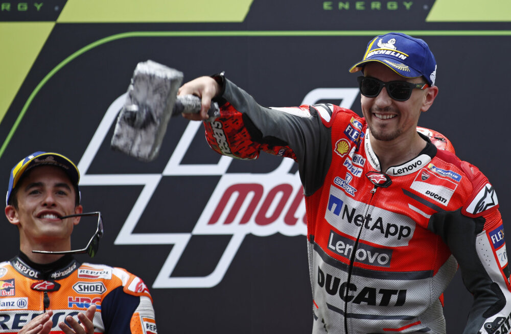 MOTO GP BLOGI | Lorenzo lõi kõigil suud kinni