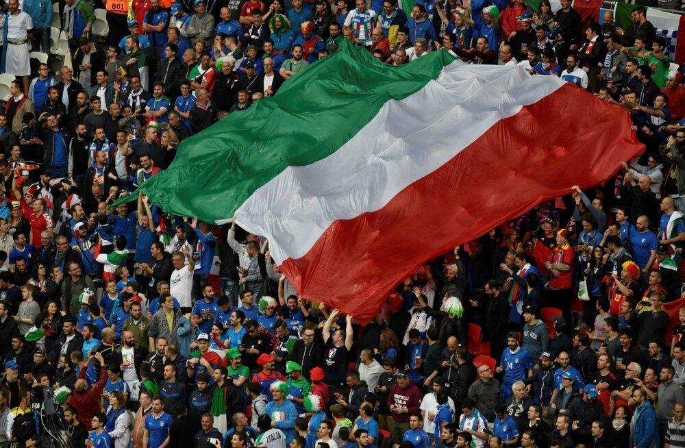 Itaalia lipp.