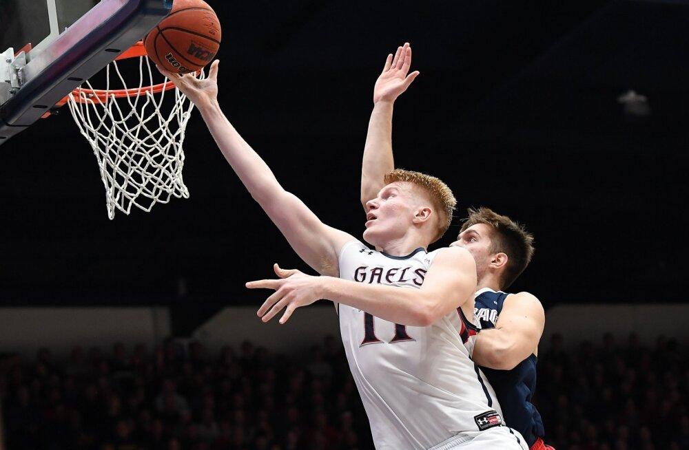 VIDEO | Matthias Tass hiilgas NCAA karjääri parimas mängus võimsa 2+1 pealtpanekuga