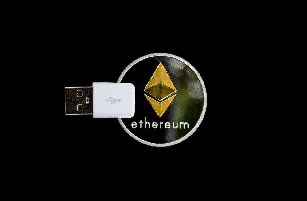 Krüptovaluuta Ethereum maksab Grayscale'i fondis juba üle 2000 dollari