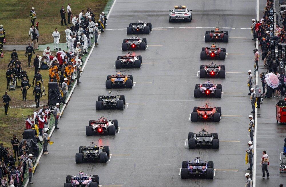 F1 tiimiboss hoiatas: stardirivist võib kaduda tervelt kaheksa autot