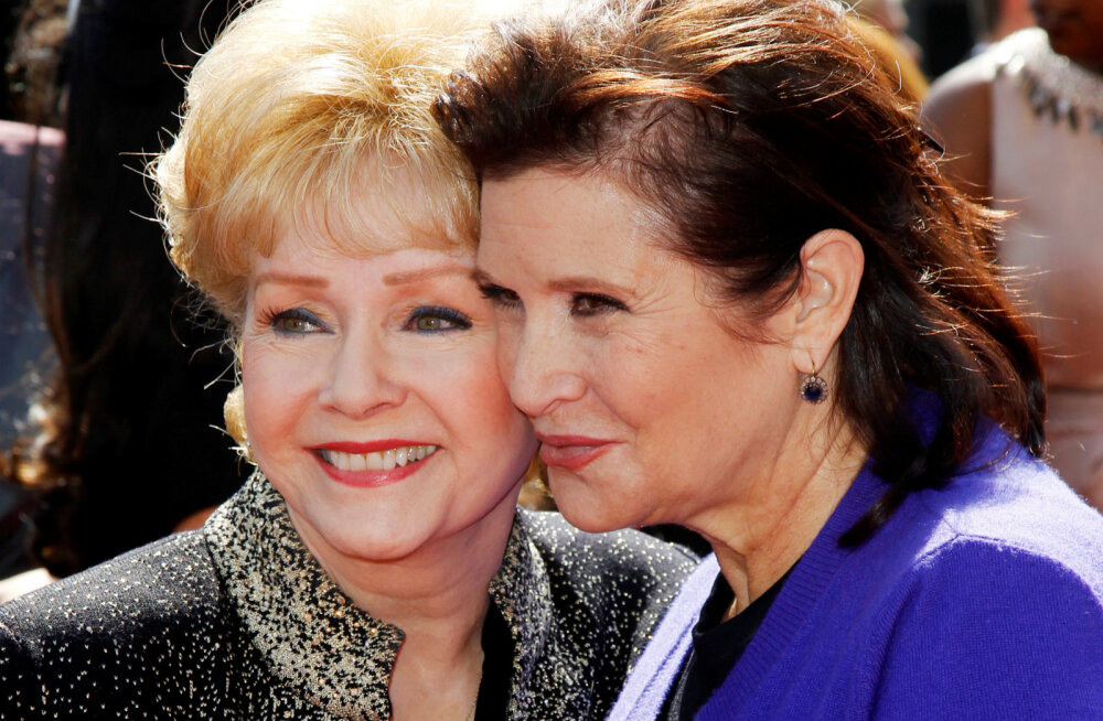 Ema ja tütar said taas kokku: Avaldati Debbie Reynoldsi viimased sõnad enne hinge heitmist