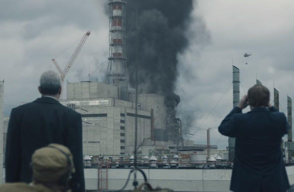 """Кадр из мини-сериала """"Чернобыль"""""""
