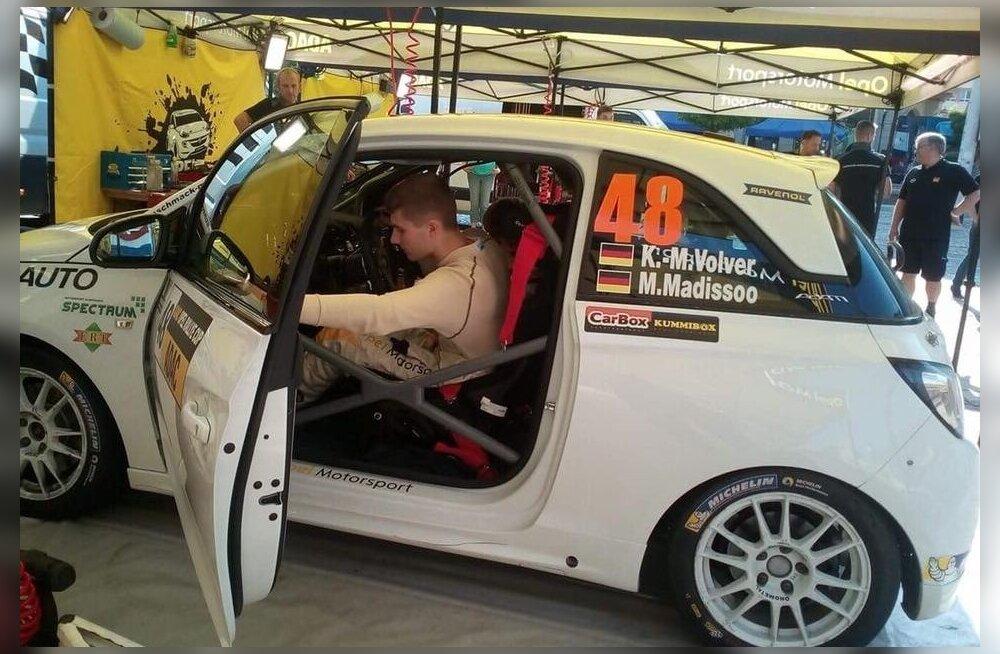 Karl Martin Volver püüab rallimaailma tungida Saksamaa Opeli sarja kaudu.