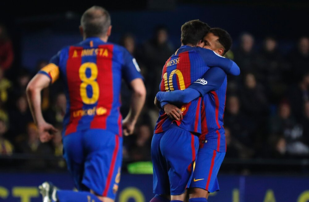 VIDEO: Messi hullumeelne karistuslöök päästis Barcelonale viimasel minutil viigipunkti