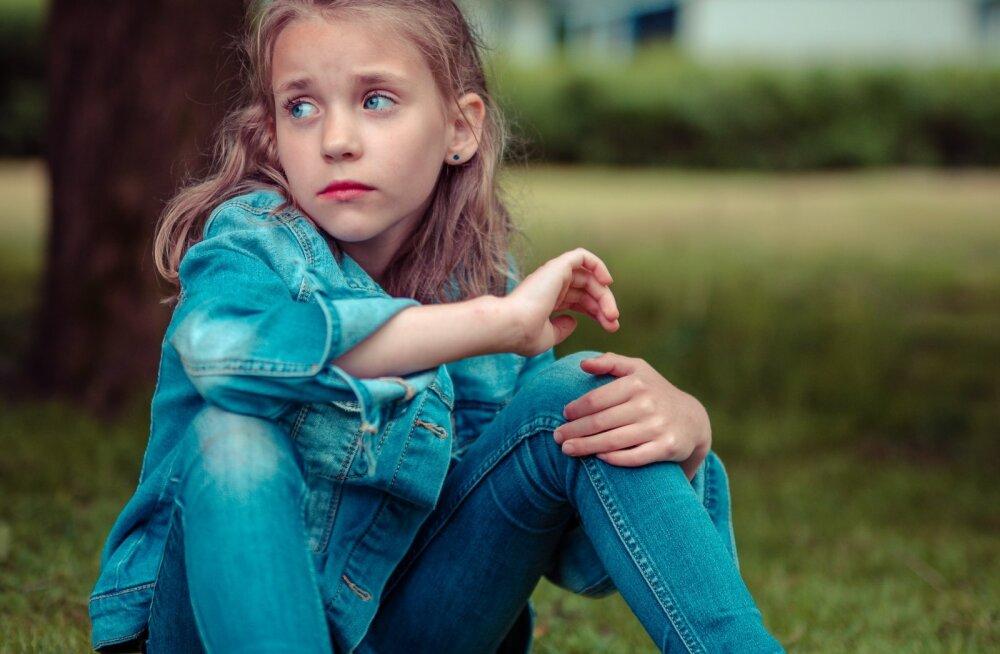 Kui lapsel on suur mure, siis annab ta sellest märku ühe kindla lausega