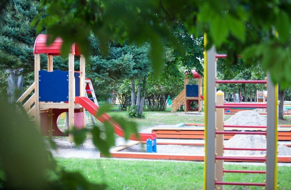 Kirsikese lasteaia mänguväljak