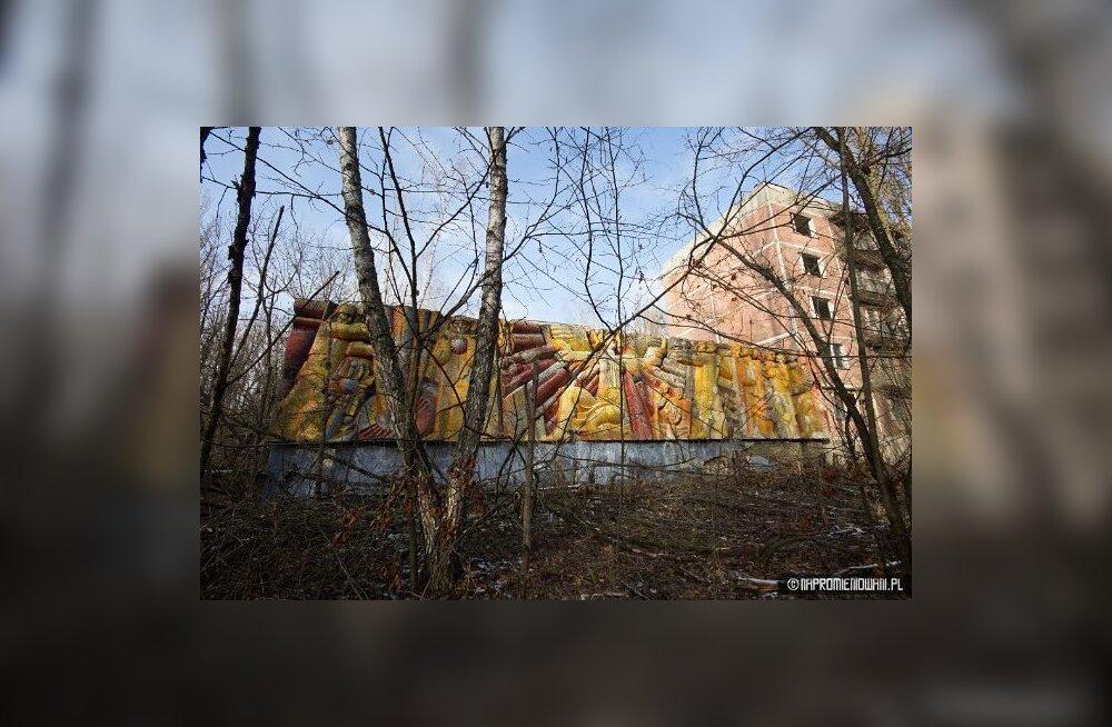 31 aastat pärast Tšernobõli katastroofi: keegi süütas Pripjatis tuled