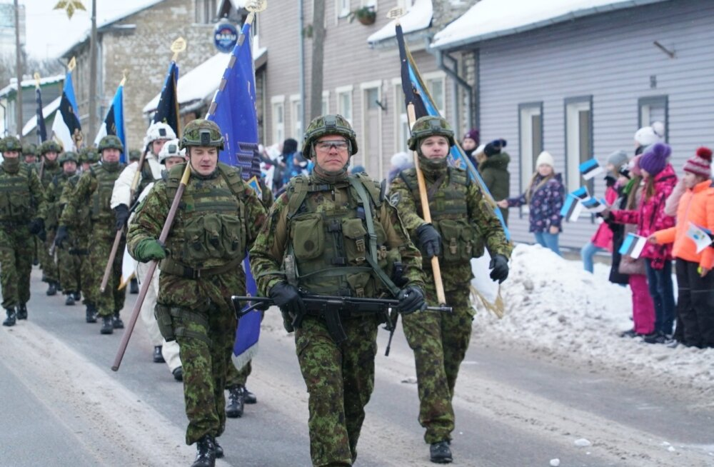 Suurtükiväelased Rakveres
