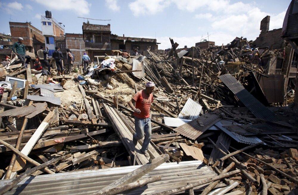Nepali maavärina üle elanud lätlane: minu süda tagus nagu hull!
