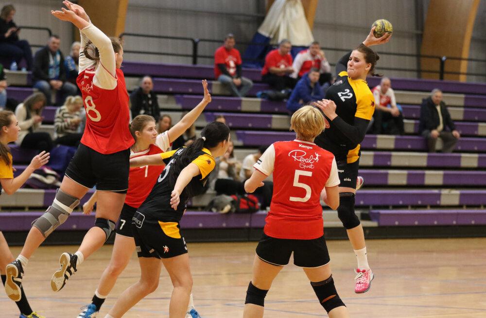 Viskel on Reval-Sport/Padise/Lasnamäe mängija Maarja Põldver.