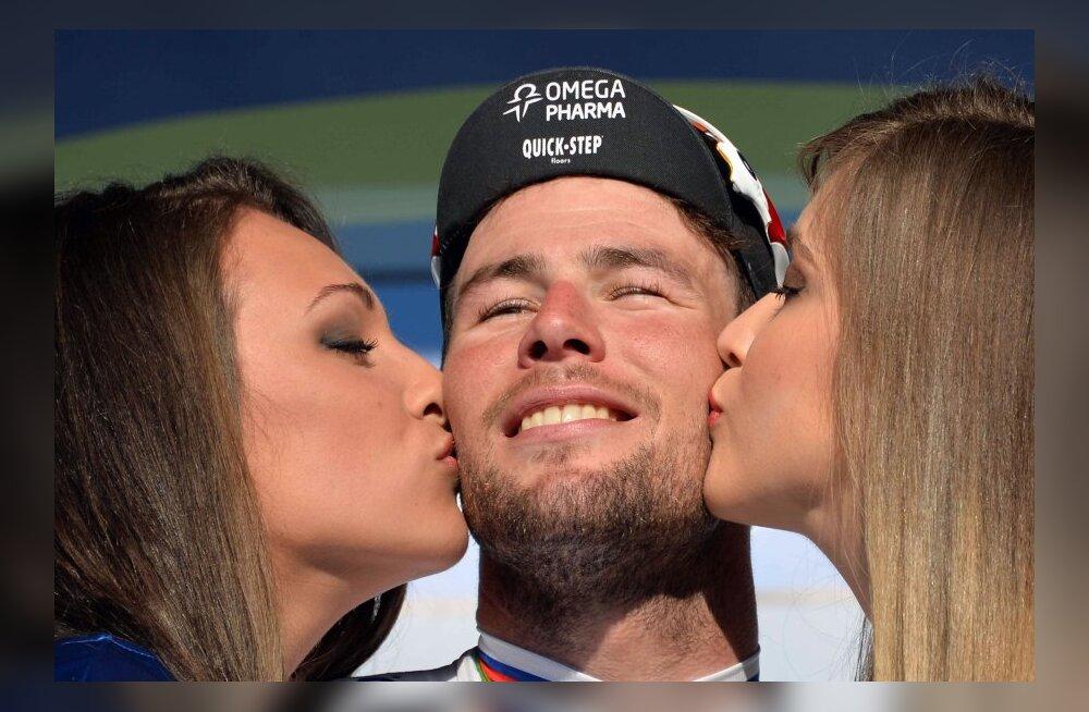 Tirreno-Adriatico eelviimane etapivõit Cavendishile, Kangert peagrupis