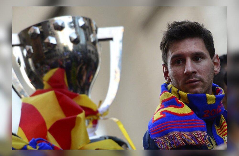 Messi ilmselt sel hooajal enam Barcelona eest väljakule ei jookse