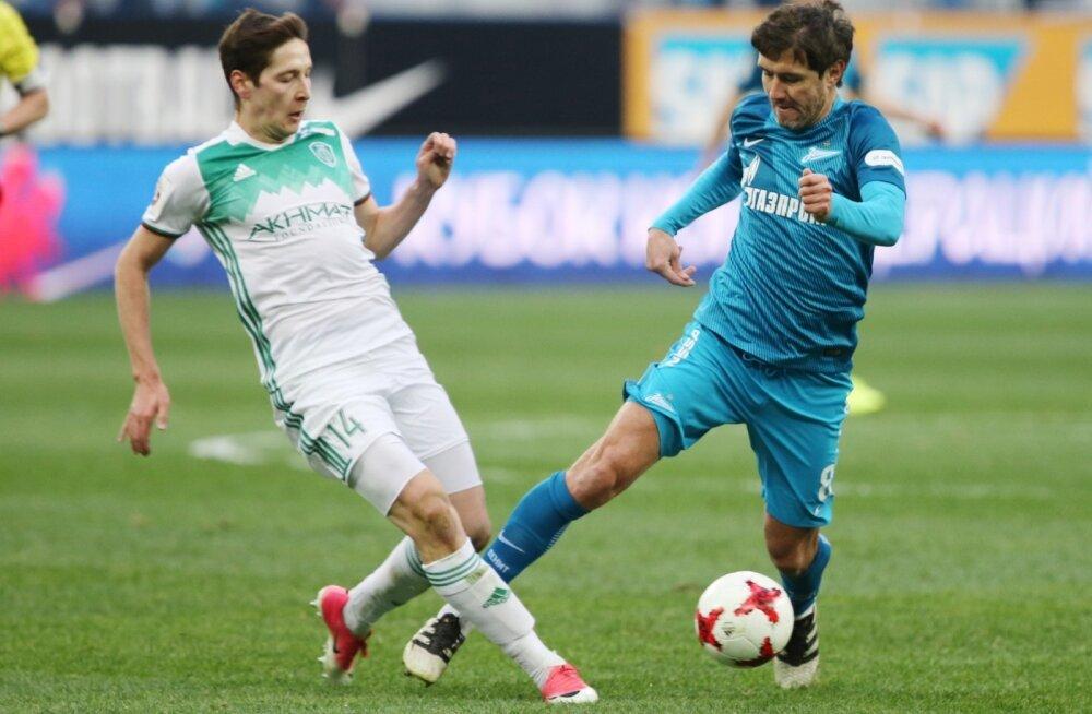 Daler Kuzjajev (vasakul) vs Juri Žirkov