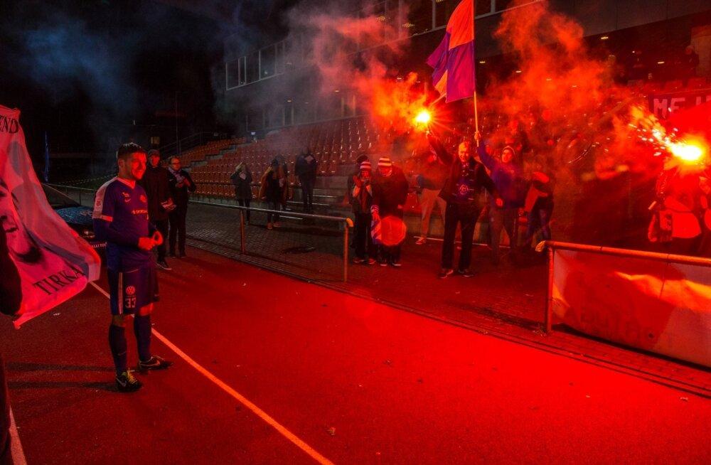 Tartu JK Tammeka vs Nõmme Kalju FC 29.10.16