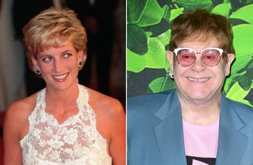 Elton John paljastas lõpuks ühe suurima Diana saladuse: need Hollywoodi tähed läksid printsessi pärast lausa kaklema!