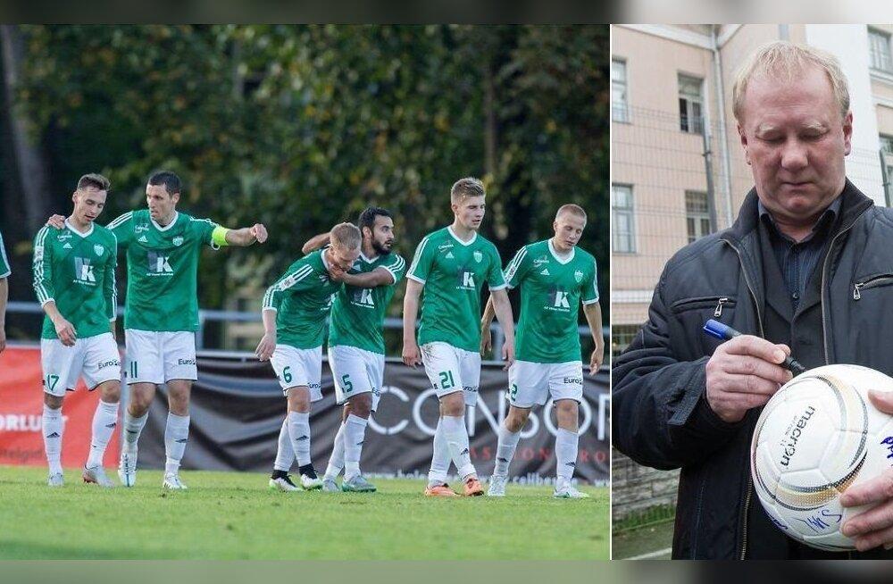 Levadia jalgpallurid ja Sergei Ratnikov